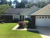 great rental home on large fenced lot in bay branch villas
